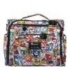 Ju-Ju-Be x tokidoki B.F.F. diaper bag in Super Toki