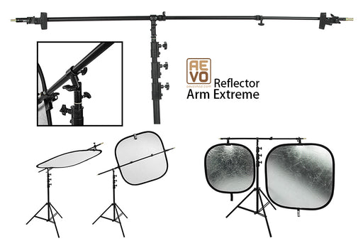 The Reflector Arm Extreme - Hold your Reflector / Backdrop / Canvas anyway u need it to be