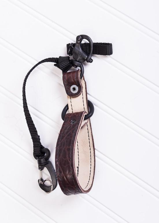 Hold Fast Gear - Money Maker Camera Leash in American Bison (Colour: Mahogany)