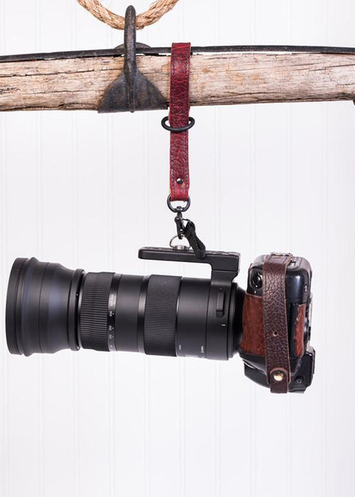 Hold Fast Gear - Money Maker Camera Leash in American Bison (Colour: Red)