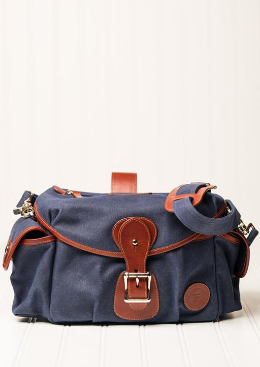 ##Pre-Order Only## Holdfast + Fundy Streetwise Bag ( Navy + Chestnut )