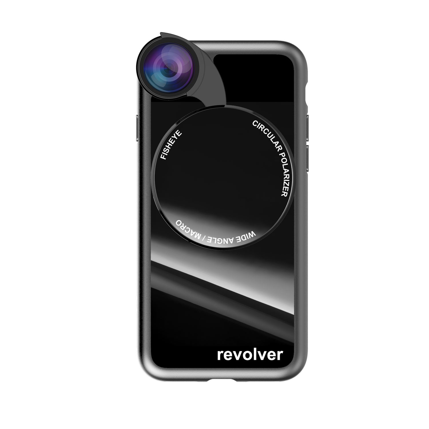ZTYLUS ( IPHONE X ) 4 in 1 - REVOLVER M SERIES LENS KIT