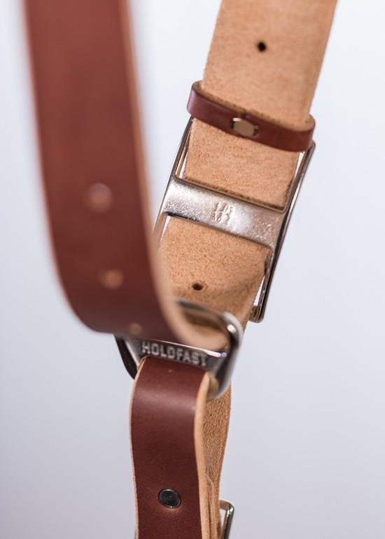 Hold Fast Gear - Money Maker Bridle Leather ( Color Chestnut )