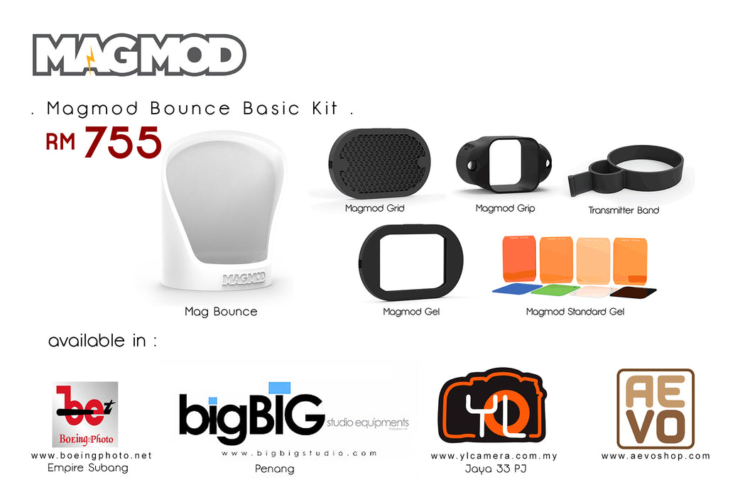 MagMod Bounce Set / MagMod Bounce Basic Kit Set