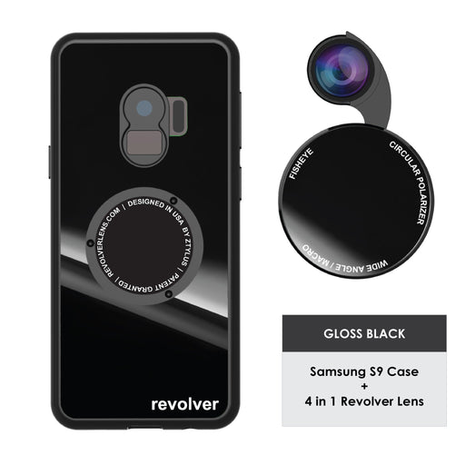 ZTYLUS ( SAMSUNG GALAXY S9+ ) 4 in 1 - REVOLVER M SERIES LENS KIT