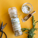 Dead Sea Salt Mixture Seasoned with Organic  Rosemary leaves