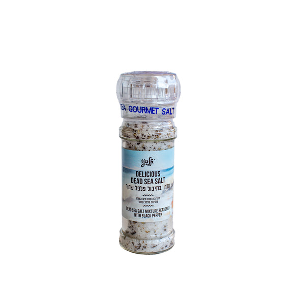 Dead Sea Salt Mixture Seasoned with Black Pepper