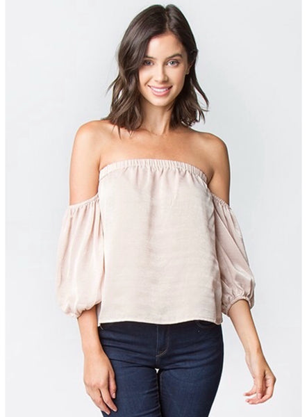 Avery Strapless Top