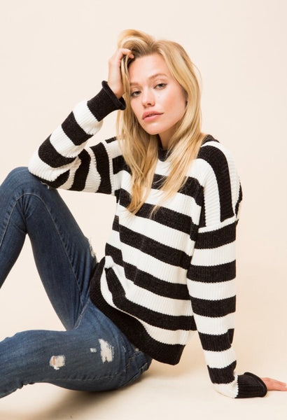 Betsy Striped Sweater