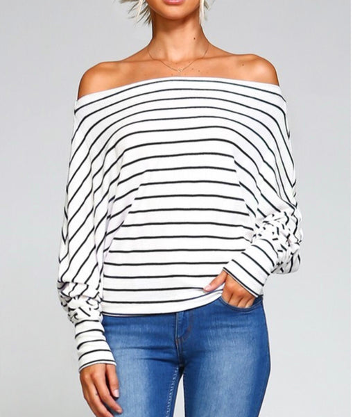 Stella Stripe Sweater