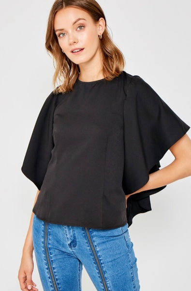 Kimberly Top in Black