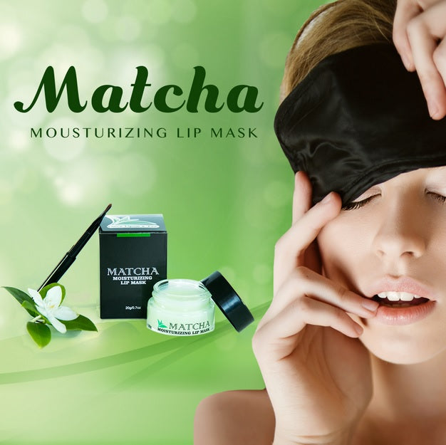 Enjoy Luscious Lips with Overnight Matcha Moisturizing Lip Mask