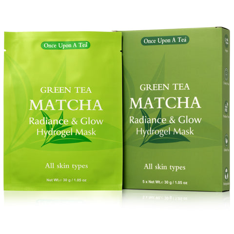 Green Tea MATCHA Radiance & Glow Hydrogel Sheet Mask