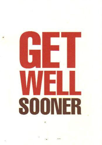 Get Well Sooner Card