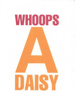Whoops A Daisy Card