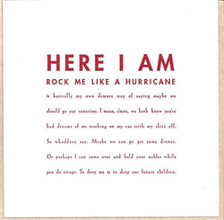 Here I Am Card