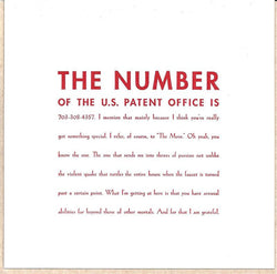 The Number Card