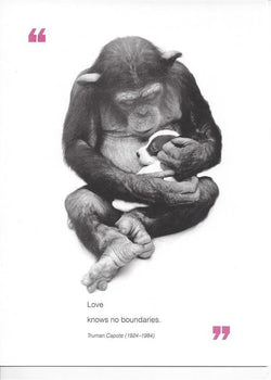 Love Knows No Boundaries Mothers Day Card