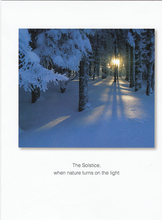 The Solstice Card