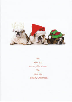 We Woof You a Merry Christmas Card