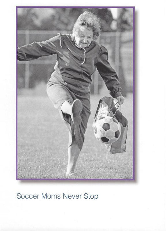Soccer Moms Mother's Day Card