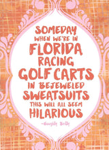 Florida Happy Birthday Card