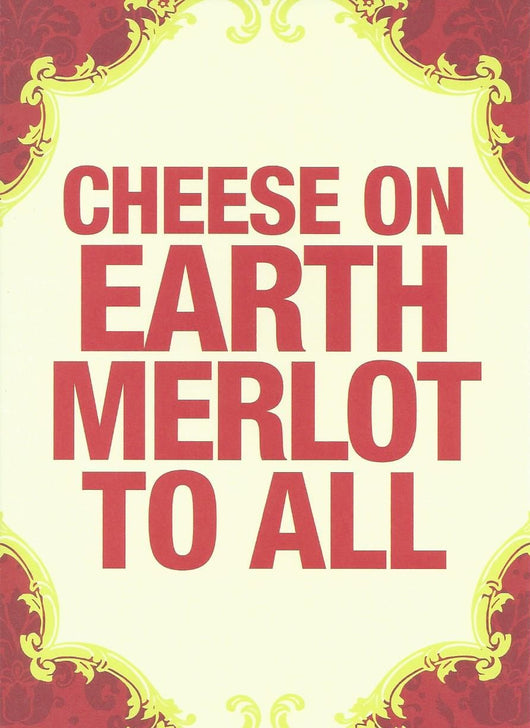Cheese On Earth Holiday Card