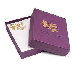 Embossed Birds and Roses Correspondence Card Set