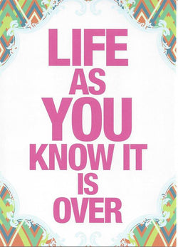 Life As You Know It New Baby Card