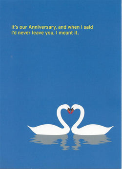 Custody Anniversary Card