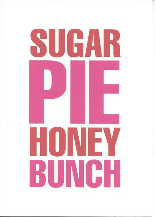 Sugar Pie Honey Bunch Card