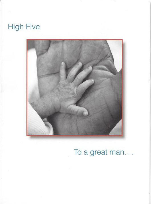 High Five Father's Day Card