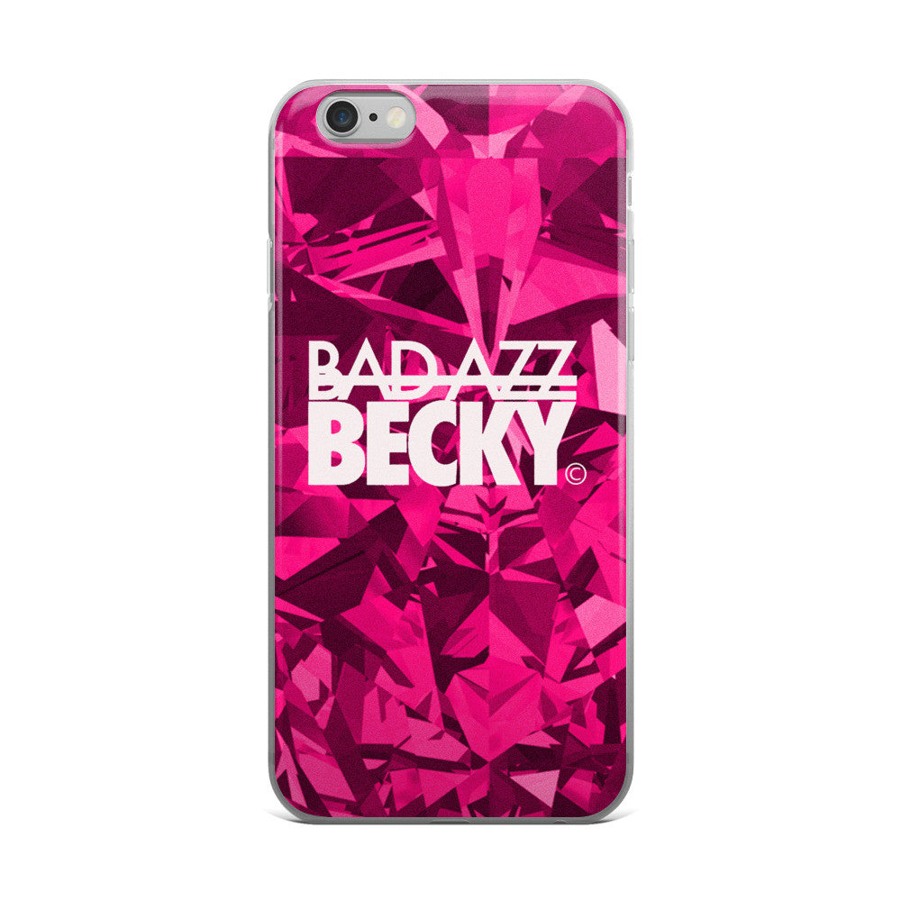 Bad Azz Becky Pink Diamond-iPhone 5/5s/Se, 6/6s, 6/6s Plus Case - Bad Azz Becky