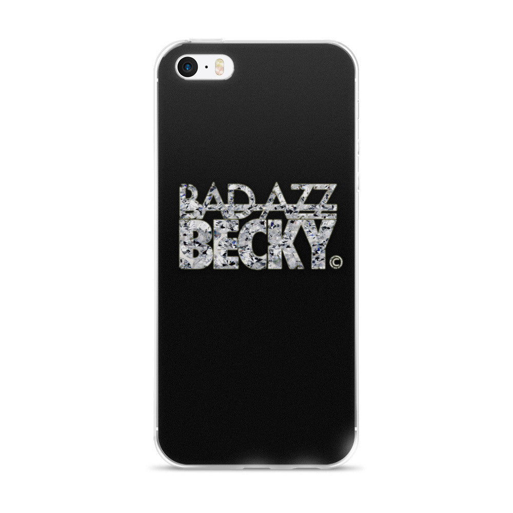 Bad Azz Becky Black Diamond-iPhone 5/5s/Se, 6/6s, 6/6s Plus Case - Bad Azz Becky