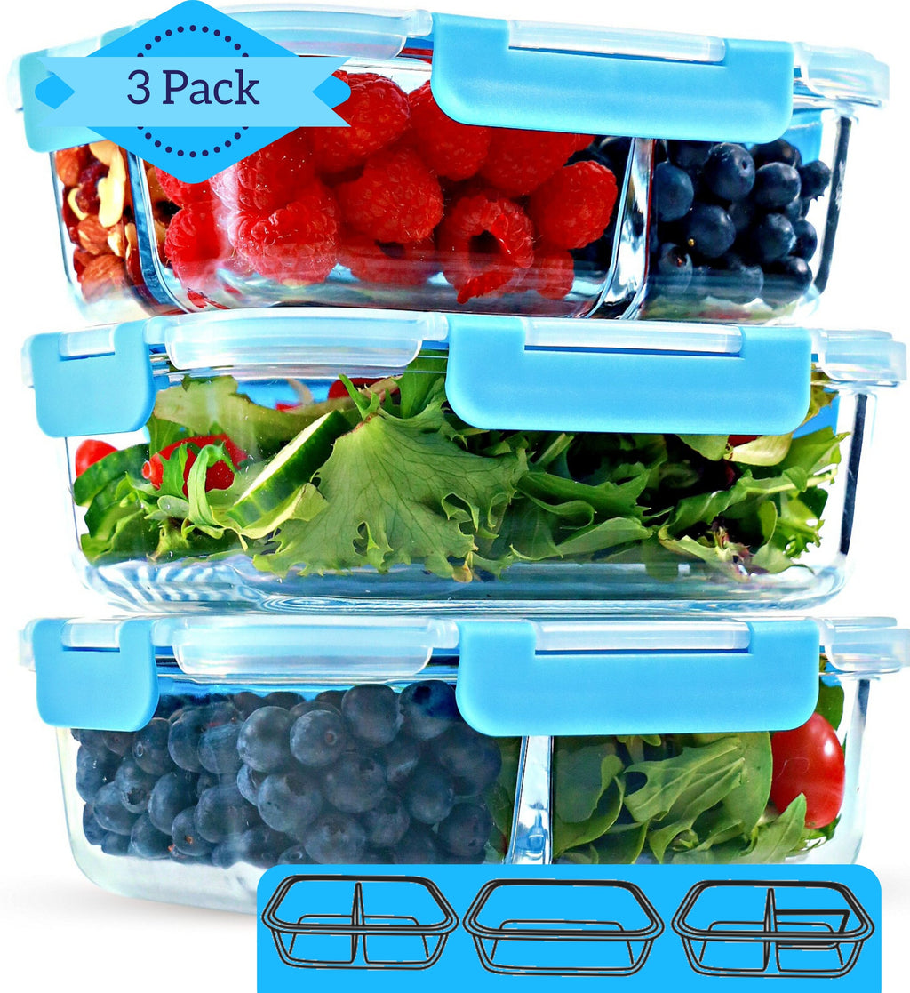 Best Glass Meal Prep & Food Storage Containers Online by FIT Strong & Healthy