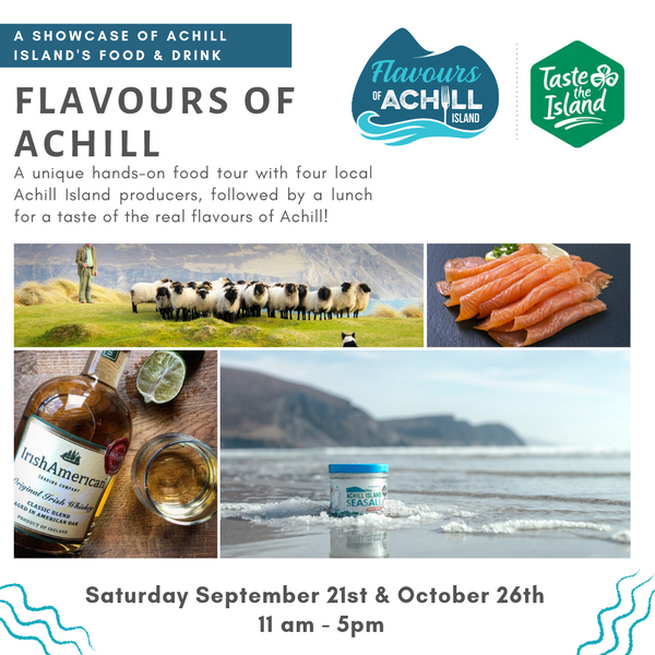 Flavours of Achill Island Food Tour with Achill Island Sea Salt