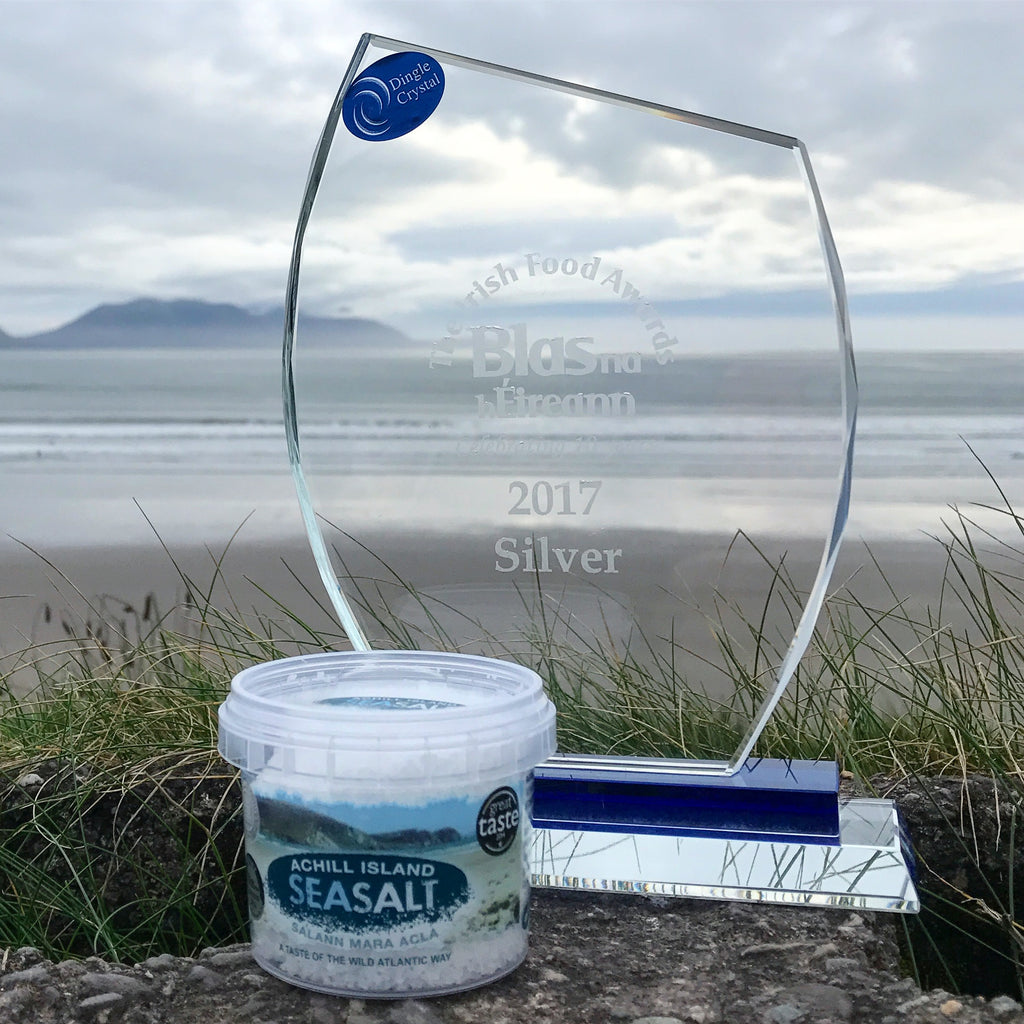 Silver Blás na hÉireann for Achill Island Sea Salt