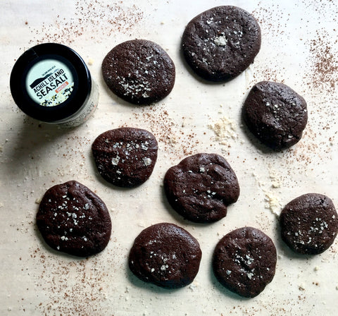 Smoked Sea Salt Recipe of Chocolate Orange Cookies