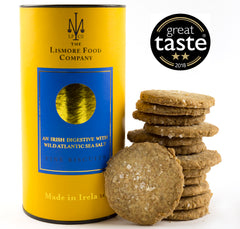 Lismore Food Company Wild Irish Digestives with Achill Island Sea Salt