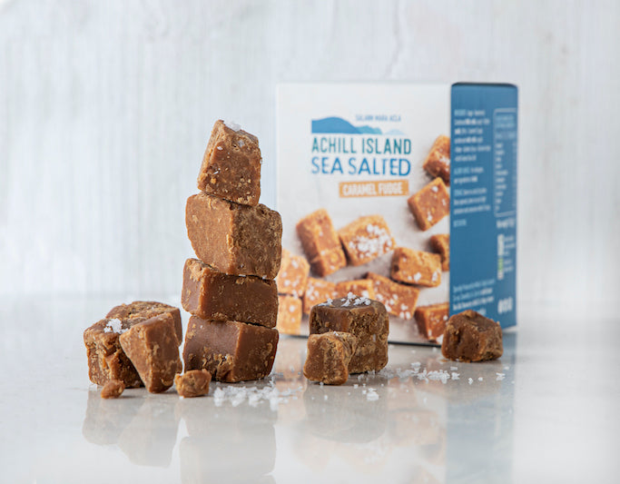 Achill Island Sea Salted Caramel Fudge