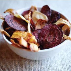 Vegetable Crisps with Achill Island Sea Salt