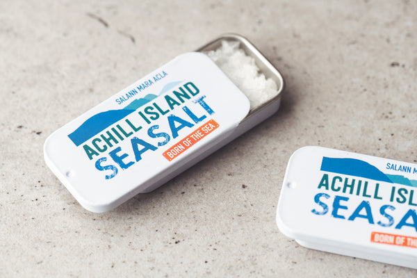 Achill Island Sea Salt Sliding Tin