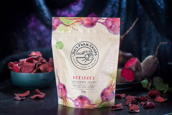 Beetroot Crisps with Achill Island Sea Salt