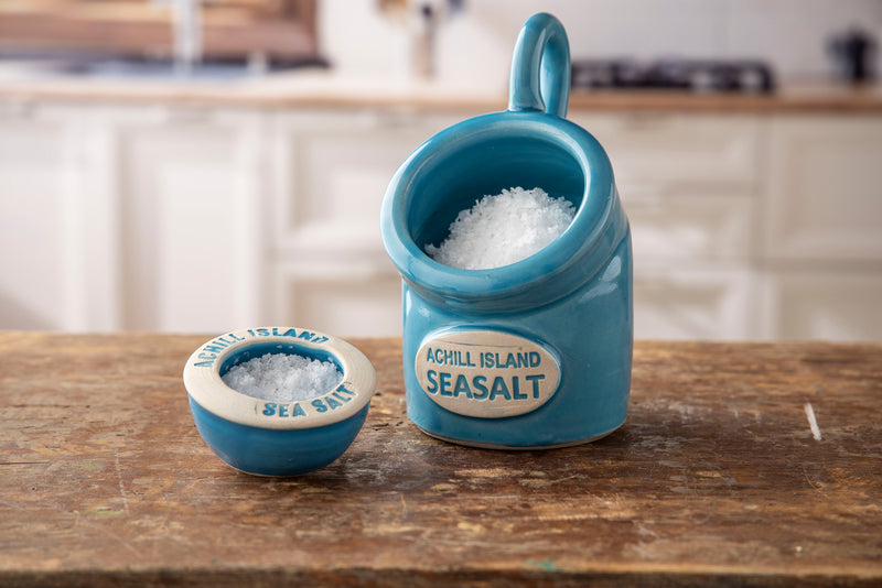 Achill Island Sea Salt Pig and Pinch Pot Set