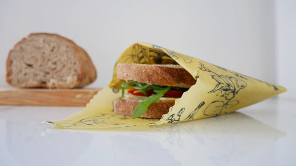 Millbee Beeswax Lunch Wrap x 3