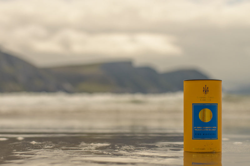 Lismore Food Biscuits with Achill Island Sea Salt