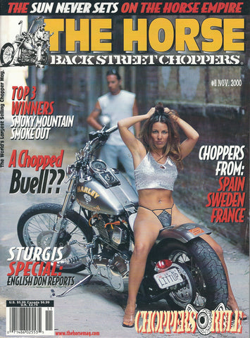 The Horse BackStreet Choppers Magazine Issue #11