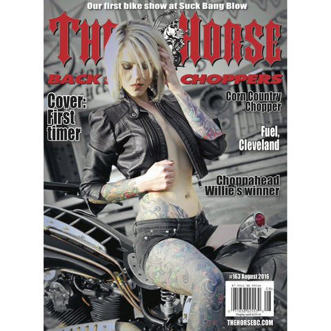 The Horse BackStreet Choppers Magazine Issue #163