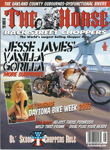 The Horse BackStreet Choppers Magazine Issue #34