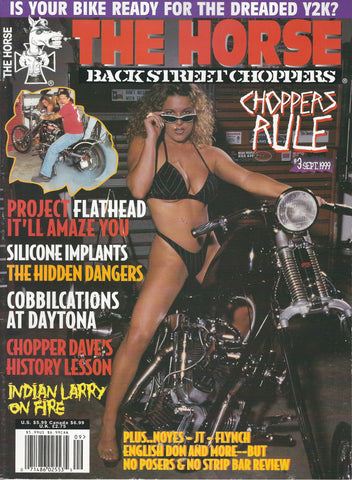 The Horse BackStreet Choppers Magazine Issue #3